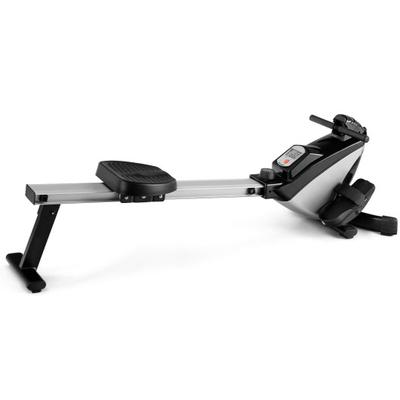 The magnetic rower is a great exercise equipment for your home or private gym which has an 8-level magnetic tension resistance system that allows a variety of body types and age to achieve their exercise requirements.