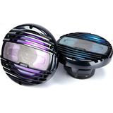 Hertz Marine HMX 6.5-LD-C 6.5 Speakers w/ RGB and Black Grilles