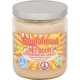 Pet Odor Exterminator Sandalwood Deodorizing Candle, 13-oz jar