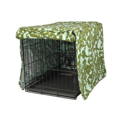 Molly Mutt Amarillo By Morning Dog Crate Cover, Huge