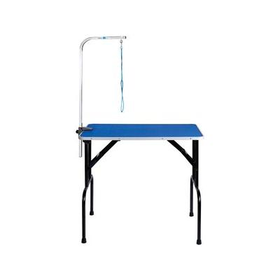 Master Equipment Dog Grooming Table with Arm, Blue, 36-inch