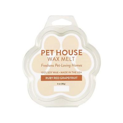 Pet House Ruby Red Grapefruit Natural Soy Wax Melt, 3-oz