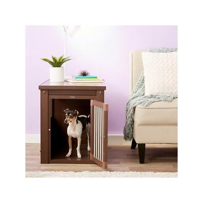 New Age Pet ecoFLEX Crate & End Table, Russet, Medium