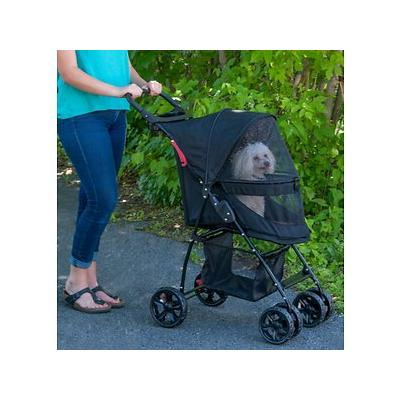 Pet Gear Happy Trails Lite No-Zip Pet Stroller, Jaguar