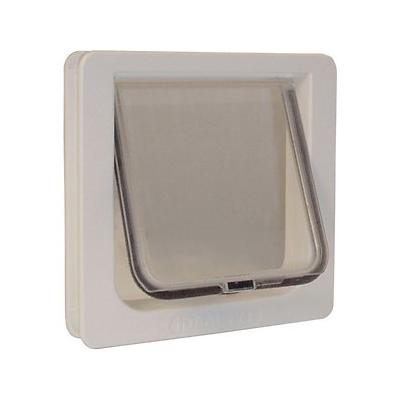 Ideal Pet Products Lockable Cat Flap Pet Door; Ideal Pet Products Lockable Cat Flap Pet Door offers a secure way for your cat to come and go as he pleases. Designed for cats weighing up to 12 pounds, this durable cat door features a fully lockable flap...