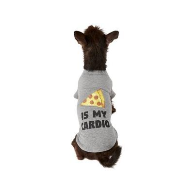 Fab Dog Pizza Is My Cardio Dog & Cat T-Shirt, 14-in