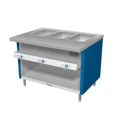 Duke TGHF-88SS 88 Hot Food Unit w/ 6 Dry Heat Wells & Water Pans, All Stainless, LP on Sale