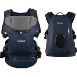Diono - Diono Carus Complete 4-in-1 Baby Carrier + Detachable Backpack - Navy