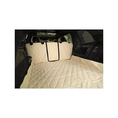 Plush Paws Products Waterproof Cargo Liner, Tan, X-Large; Keep your vehicle's back cargo area looking like new with the Plush Paws Products Waterproof Cargo Liner. Muddy paws, wet dogs, drool, hair and dander will never touch the upholstery of your...