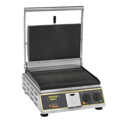 Equipex PANINI PREMIUM/1 Commercial Panini Press w/ Cast Iron Grooved Plates, 120v on Sale