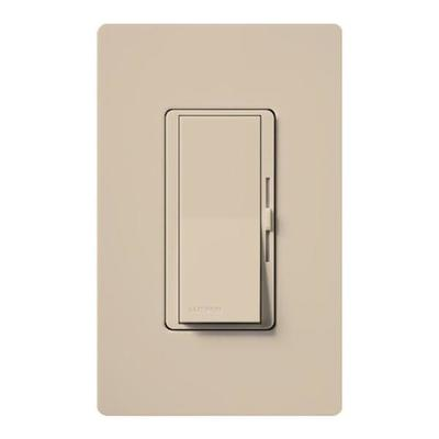 Lutron 50490 - 120 volt Taupe Toggler 800 watt Single-Pole / 3-Way Incandescent / Halogen Wall Dimmer Switch
