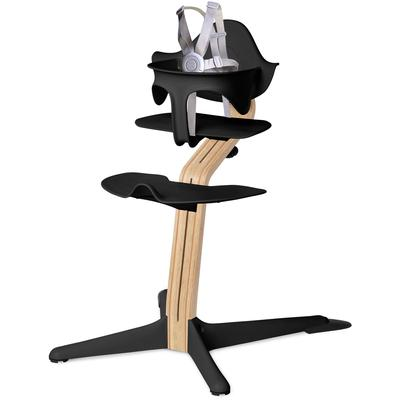 Nomi Highchair - Black/White Oak