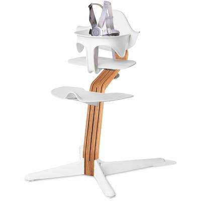 Nomi Highchair - White/Natural Oak