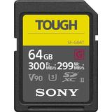 Sony SF-G64T/T1 64GB UHS-II Tough SD Card