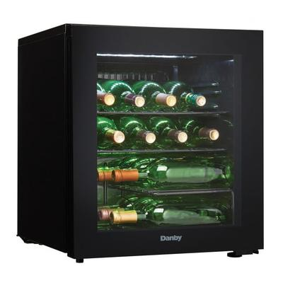 Danby DWC018A1BDB 18 One Section Wine Cooler w/ (1) Zone - 16 Bottle Capacity, 115v on Sale
