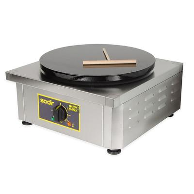 Equipex 400E 15.75 Single Crepe Maker w/ Cast Iron Plate, 240v/1ph on Sale