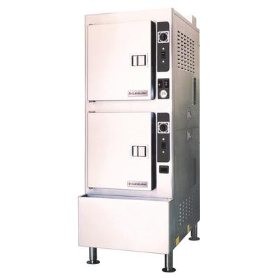 Cleveland 24CEA10 (10) Pan Convection Steamer - Cabinet, 208v/3ph on Sale
