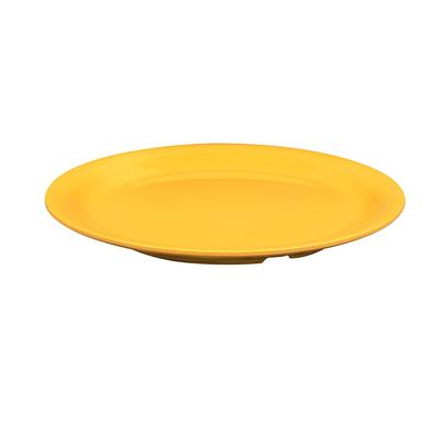 GET NP-9-TY 9 Round Dinner Plate, Melamine, Yellow on Sale