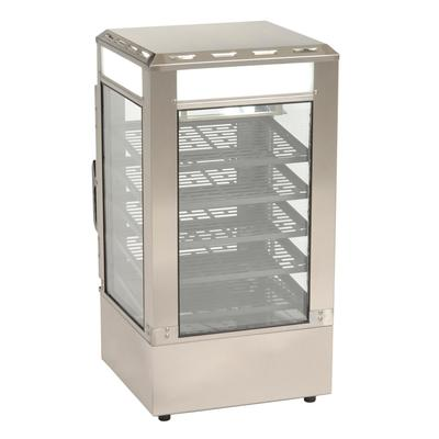 Antunes SDC-500 16.5 Countertop Heated Merchandiser w/ (5) Sliding Shelves, 120v on Sale