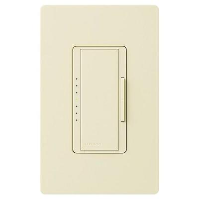 Lutron 44305 - 120 volt Almond 600 watt Toggler Single-Pole / 3-Way Incandescent / Halogen Electronic Low Voltage Wall Dimmer Switch