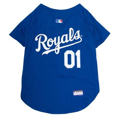 MLB Kansas City Royals Jersey for Dogs, Small, Multi-Color