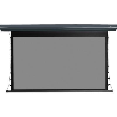 "Elite Screens 135"" Straling Tab Tension 2 CineGrey Motorized Projection Screen"