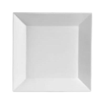 12-5//8 x 1 Box of 12 New Bone White 12-5//8 x 1 CAC China PS-E21 Paris-French Champagne Porcelain Round Eiffel Dipping Plate