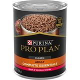 Purina Pro Plan Savor Classic Beef & Venison Entree Grain-Free Canned Dog Food, 13-oz, case of 12