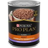 Purina Pro Plan Savor Classic Turkey & Chicken Entree Grain-Free Canned Dog Food, 13-oz, case of 12
