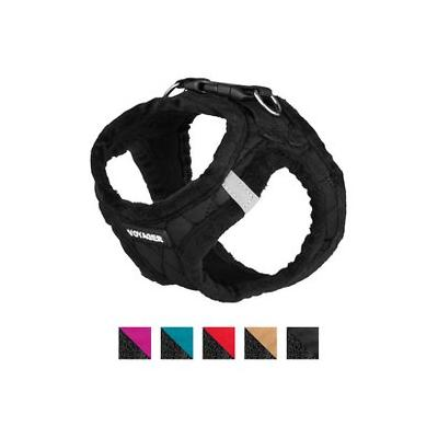 Best Pet Supplies Voyager Padded Fleece Dog Harness, Black, X-Small