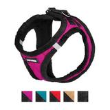 Best Pet Supplies - Best Pet Supplies Voyager Padded Fleece Dog Harness, Rose, Small