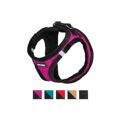 Best Pet Supplies Voyager Padded Fleece Dog Harness, Rose, Small