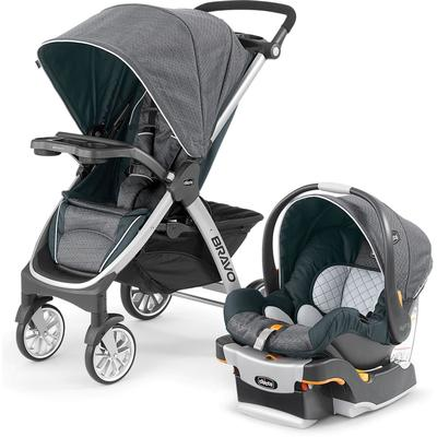 Chicco Bravo Trio Travel System - Poetic