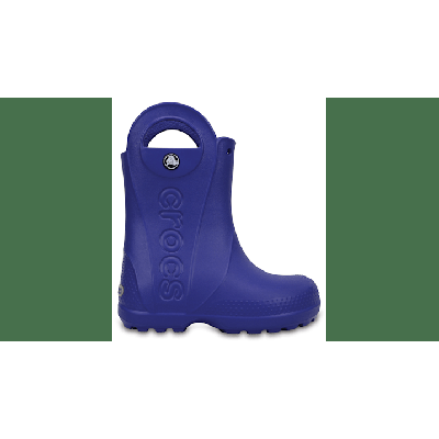 Crocs Cerulean Blue Kids' Handle It Rain Boot Shoes