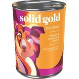 Solid Gold Star Chaser Chicken & Brown Rice Recipe Canned Dog Food, 13.2-oz, case of 6