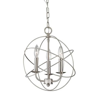 Thomas Lighting Williamsport 13 Inch 3 Light Mini Chandelier - 1513CH/20