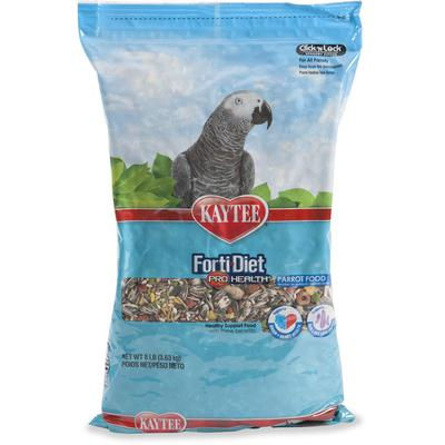 Kaytee Forti-Diet Pro Health Healthy Support Diet for Parrots, 8 lbs.