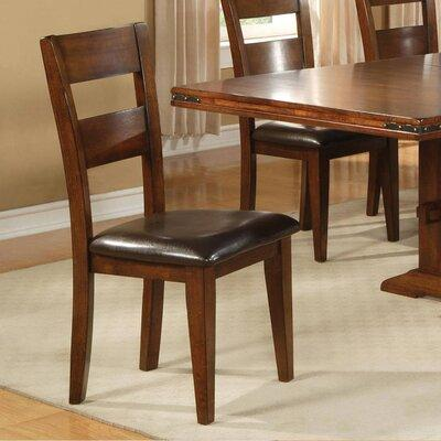 Get The Charlton Home Metivier Upholstered Dining Chair Genuine Leather Upholstered In Brown Size 40 H X 25 W X 20 D Wayfair From Wayfair Now Ibt Shop