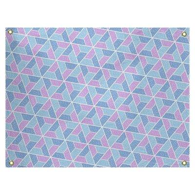 Ebern Designs Kitterman Trapezoids By Katelyn Elizabeth Tapestry Location Indoor Polyester In Blue Pink Size 91 H X 107 5 W Wayfair Shefinds