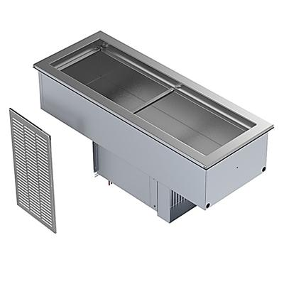 Delfield N8146NBP 47 Drop-In Refrigerator w/ (2) Pan Capacity - Cold Wall Cooled, 115v on Sale