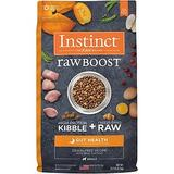Instinct Raw Boost Gut Health Grain-Free Recipe with Real Chicken & Freeze-Dried Raw Pieces Adult Dry Dog Food, 18-lb bag