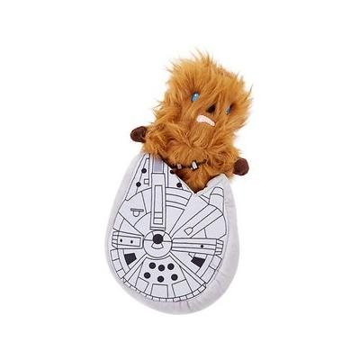 Fetch for Pets Star Wars Chewbacca M. Falcon Stuffer Dog Toy, 7-in