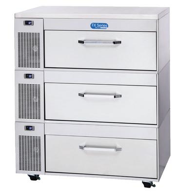 Randell FX-3SS-290 43.3 Poultry & Fish File Refrigerator w/ (1) Section & (3) Drawers, 115v on Sale
