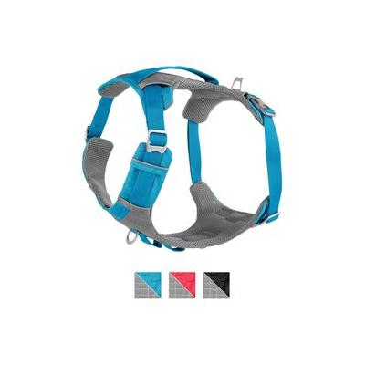 Kurgo Journey Air Dog Harness, Coastal Blue/Charcoal, X-Large