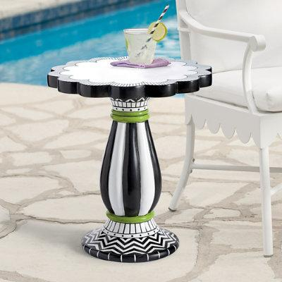 Zoey Outdoor Outdoor Side Table - Grandin Road